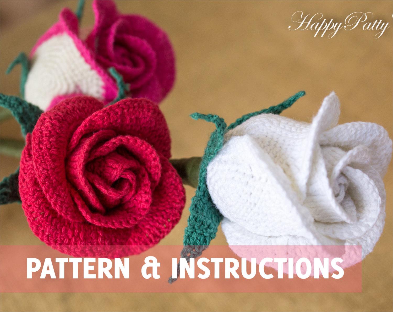 crochet rose 🔎zoom msasvur