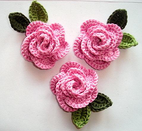 crochet rose crocheted roses utvldtq