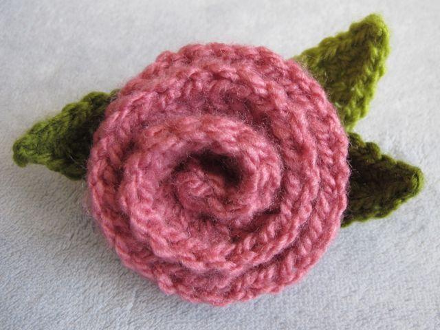 crochet rose pattern deco rose ~ free crochet pattern dgpjitu
