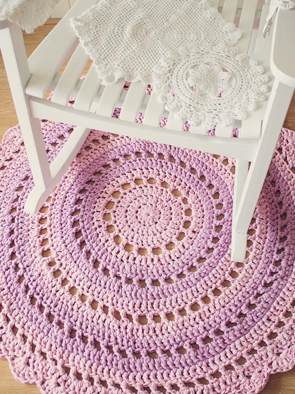 Crochet Rug – Furnishing for Homes
