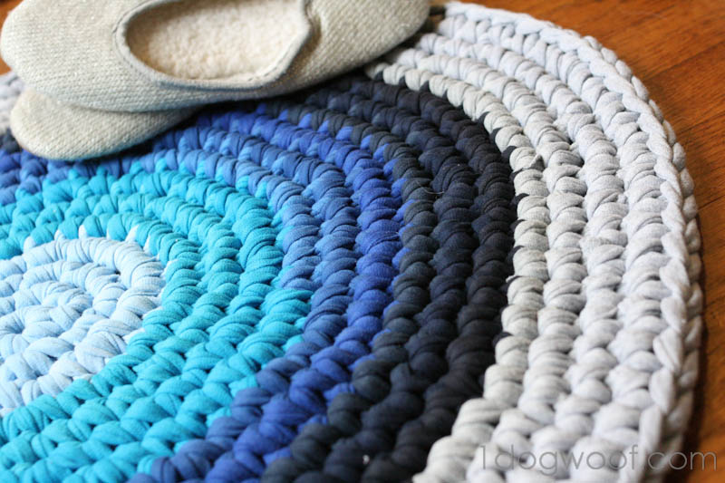 crochet rugs crochet rug repurposed t-shirt rug bmiatcp fplfbyc