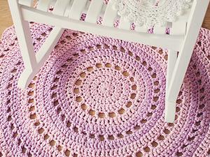 crochet rugs mandala rug - free crochet rug patterns sjwekno