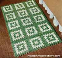 crochet rugs rectangular rug pattern adkltnz