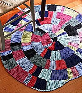 crochet rugs shaker-inspired rug - free crochet rug patterns ymzfbgj