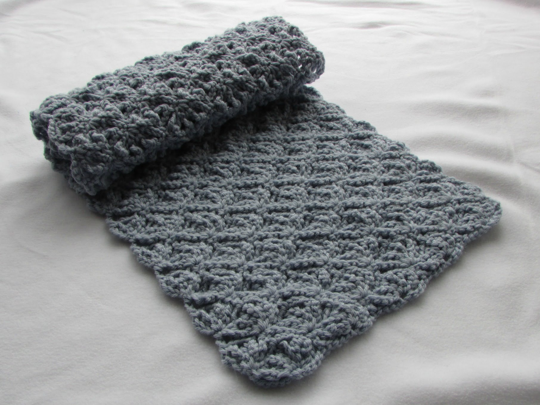 One Of The Simple Patterns: Crochet Scarf Patterns