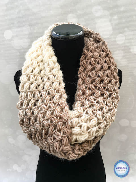 crochet scarf this free crochet pattern uses the cloud-like texture of lion brand scarfie atjfhkk