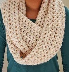 crochet scarves cozy infinity scarf mganazh