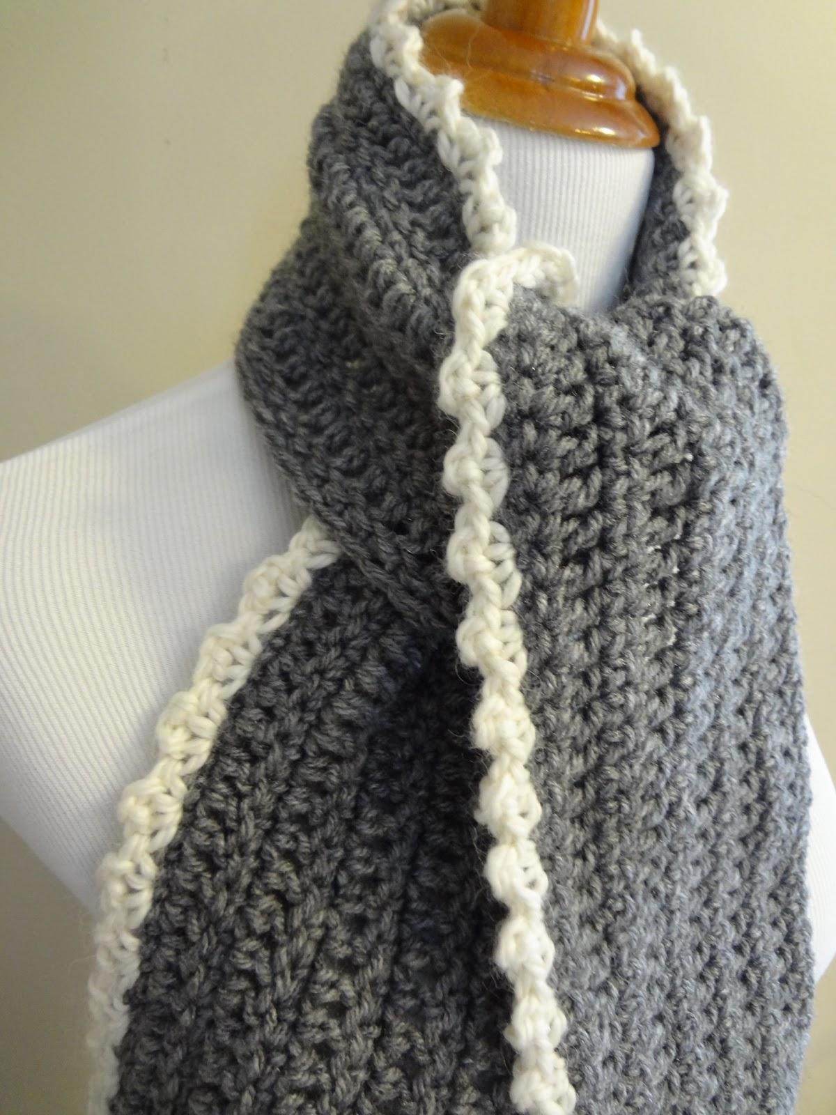 crochet scarves free crochet pattern...ingrid scarf wrdycmc