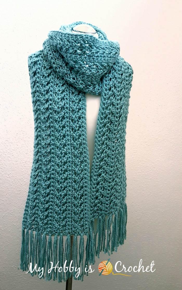 crochet scarves go with the flow super scarf