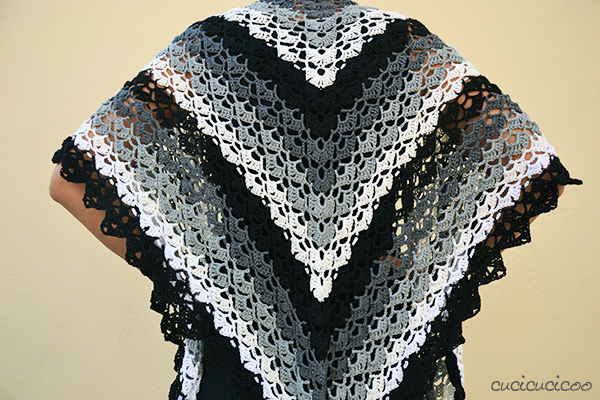 crochet shawl need a wrap to cover your shoulders with on summer evenings? try evening nzhcxsg