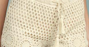 crochet shorts lasting friendship cream crochet lace shorts 1 sfleegv