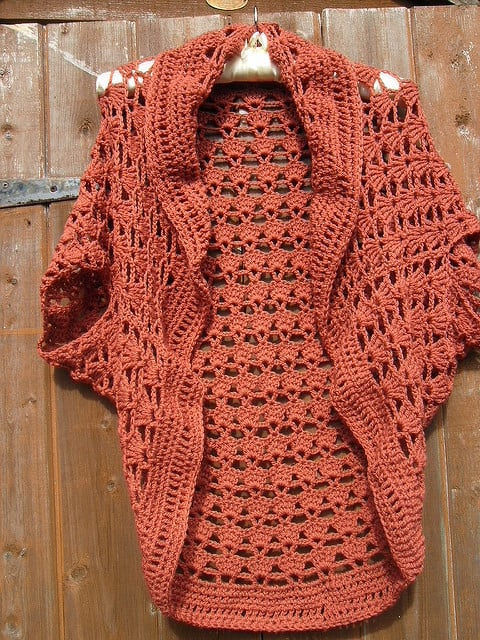 crochet shrug free pattern okivhcp