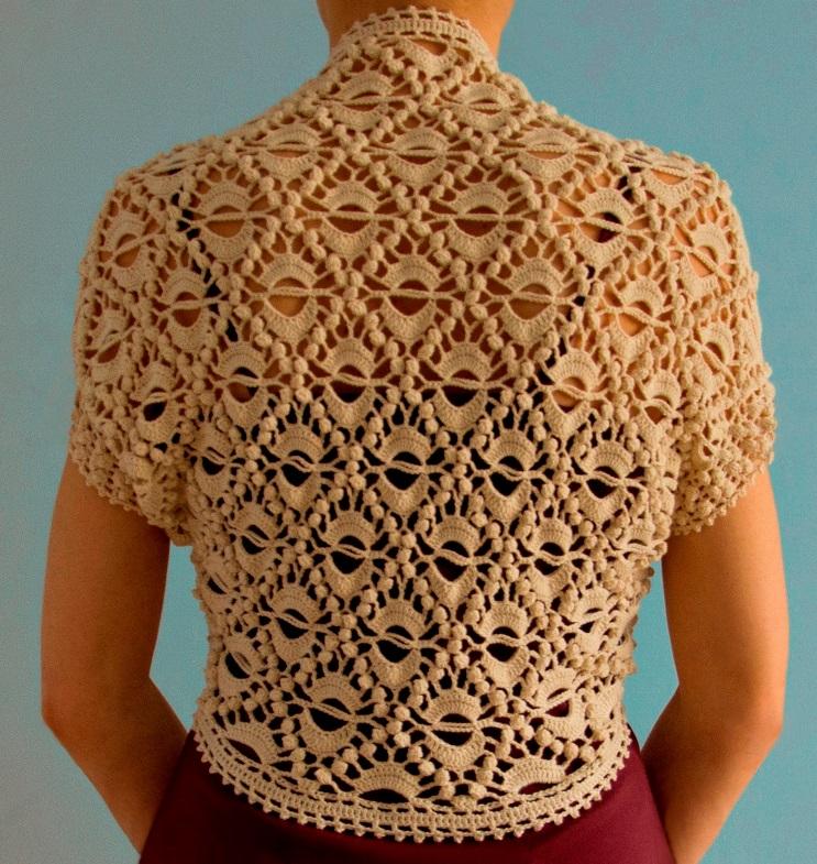 crochet shrug pattern ... vyhvemr