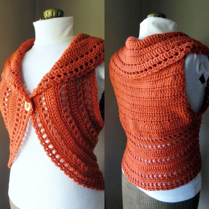 crochet shrug simple collared lacy shrug for how