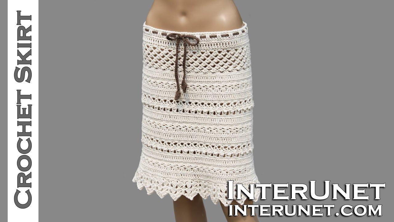 crochet skirt pattern lace skirt crochet pattern - youtube jnxegvc
