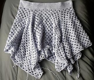 crochet skirt ravelry: not your grannyu0027s skirt pattern by brandi isham nsikftj