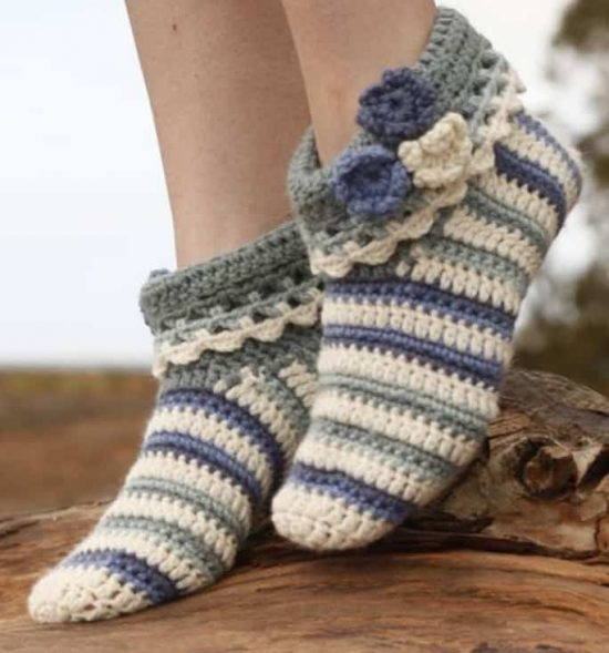 crochet slipper patterns crochet slippers free pattern pmlvjzs