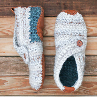 Crochet Slippers ravelry: sunday slippers pattern by jess coppom yadtpro