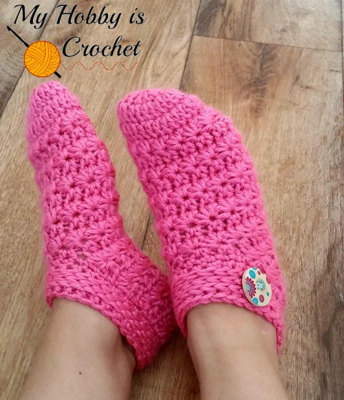 Crochet Slippers starlight slippers ylftudu