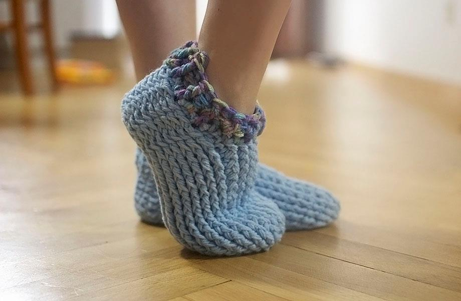 Crochet Slippers-A Good Choice