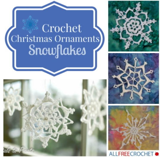 crochet snowflake pattern 31 crochet snowflake ornaments | allfreecrochet.com xijzolv