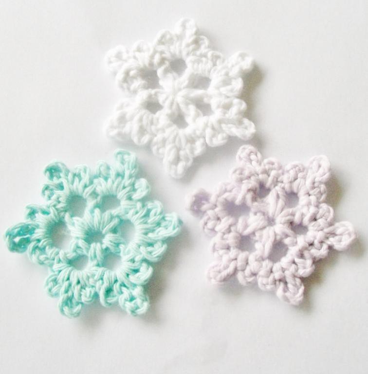 crochet snowflake pattern easy crochet snowflake | craftsy kzrlmqt