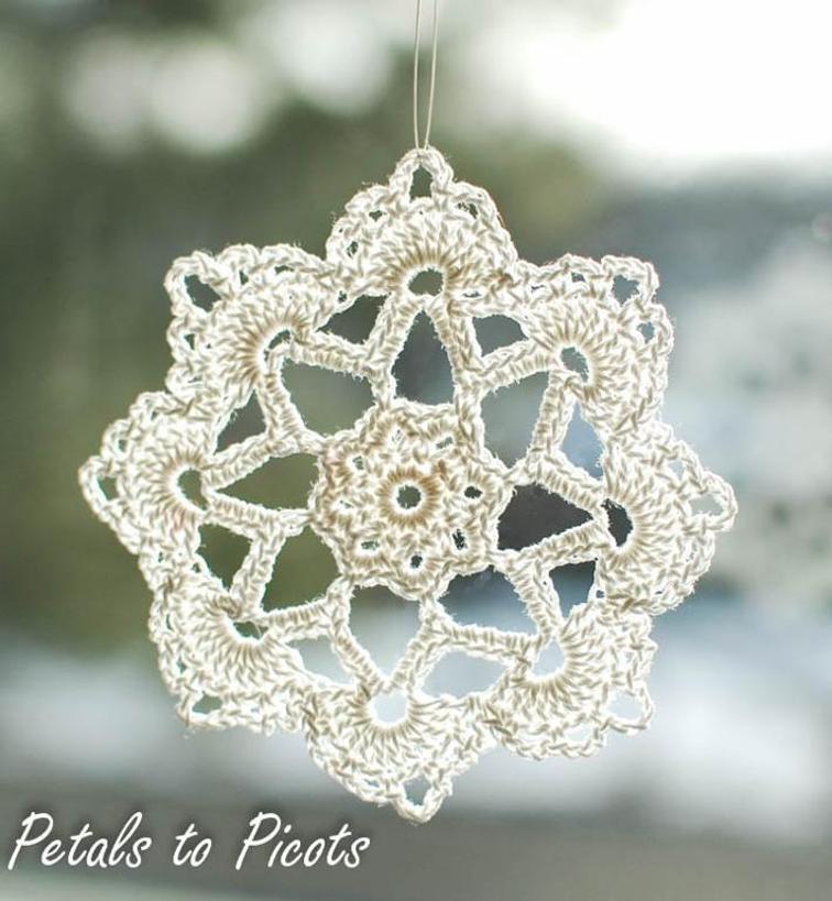 crochet snowflake pattern grandma jennieu0027s free snowflake crochet pattern biyuidx