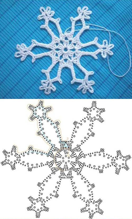 crochet snowflake pattern view in gallery crochet-snowflake-pattern-00-05 diyuebn