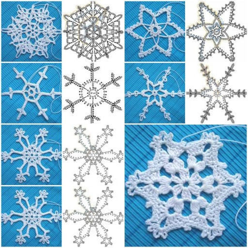 crochet snowflake pattern view in gallery crochet-snowflake-pattern-featured ygiuqxu