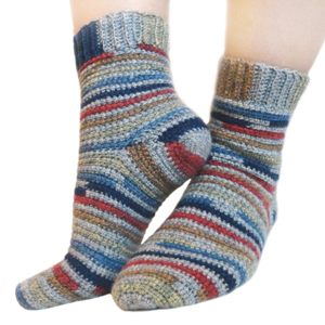 crochet sock pattern ... crochet adjustable quick socks xvtgual