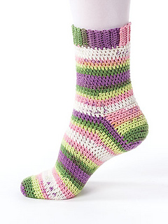 crochet socks basic sock ... uejcezq