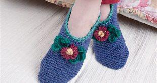 crochet socks comfort slippers ... fimrjiq