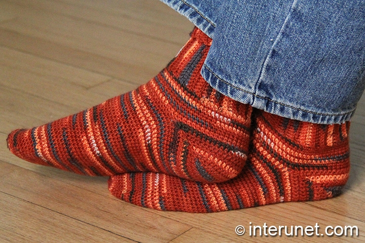 crochet socks socks-crochet-pattern qcrylms