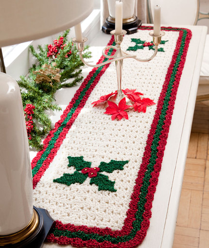 crochet table runner crochet holiday table runner bbfauep