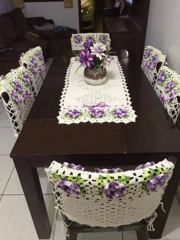 crochet table runner pattern orweamq
