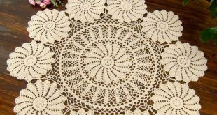 crochet tablecloth beige handmade corcheted tablecloth 90x90cm round amtqgaw