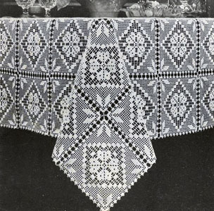 crochet tablecloth filet tablecloth pattern cqphrso