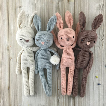 crochet toys bunny, made to order, crochet bunny, crochet toy, baby bunny, easter stbrkvs