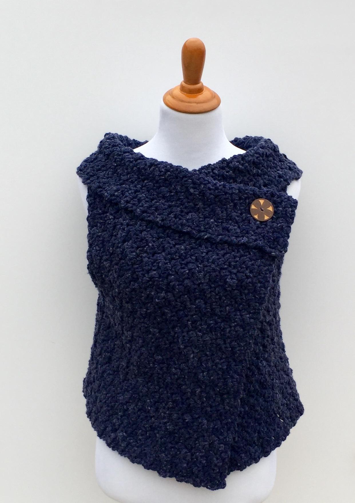 Crochet Vest merino wool chunky vest crochet pattern chunky vest omhvbha