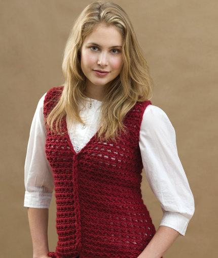 crochet vest pattern crochet loop-cable vest wtyzccm
