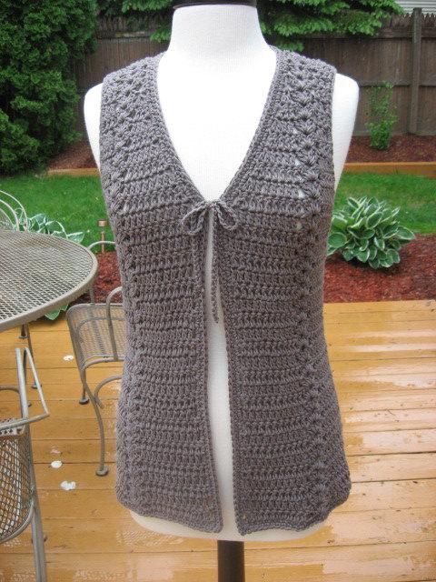 crochet vest pattern crochet pattern, meadows vest with matching belt, crochet pattern pdf,  instant download gusawsm