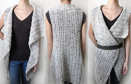 Make A Crochet Vest Pattern For Yourself Thefashiontamer