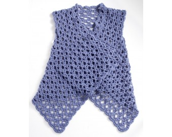 crochet vest pattern mesh vest pattern (crochet) ovgreht