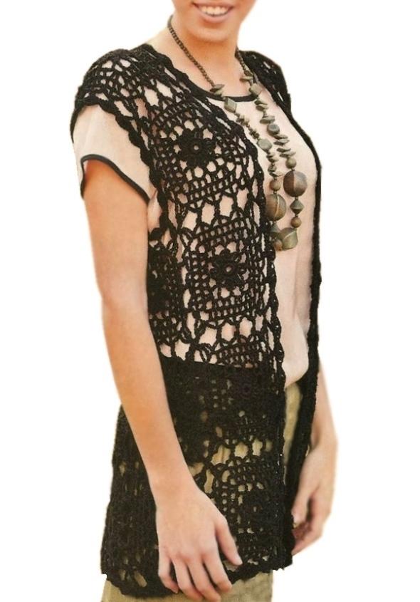 crochet vest pattern ... zqskeuy