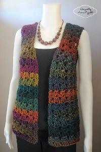 Crochet Vest unique shell vest kcxnvlb