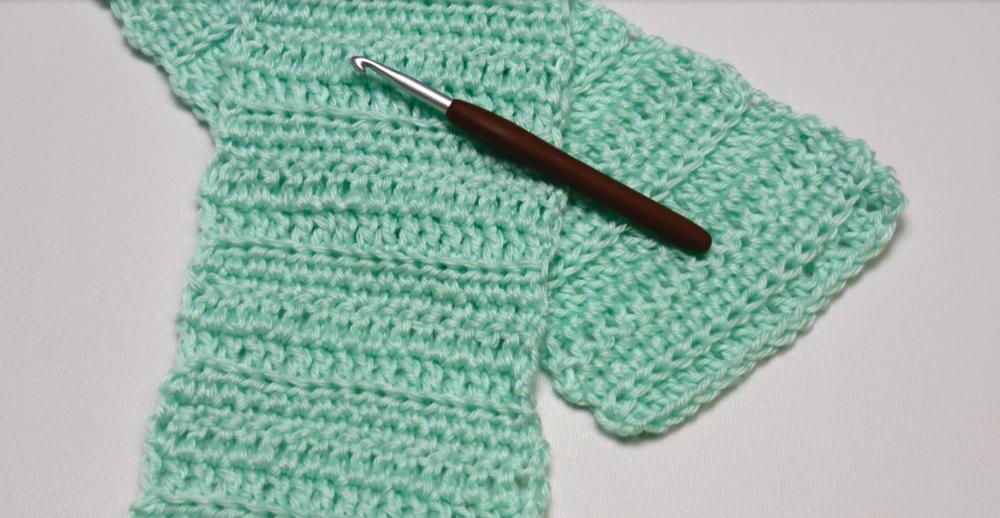 Crocheting For Beginners basic beginner crochet scarf hfnbwbn