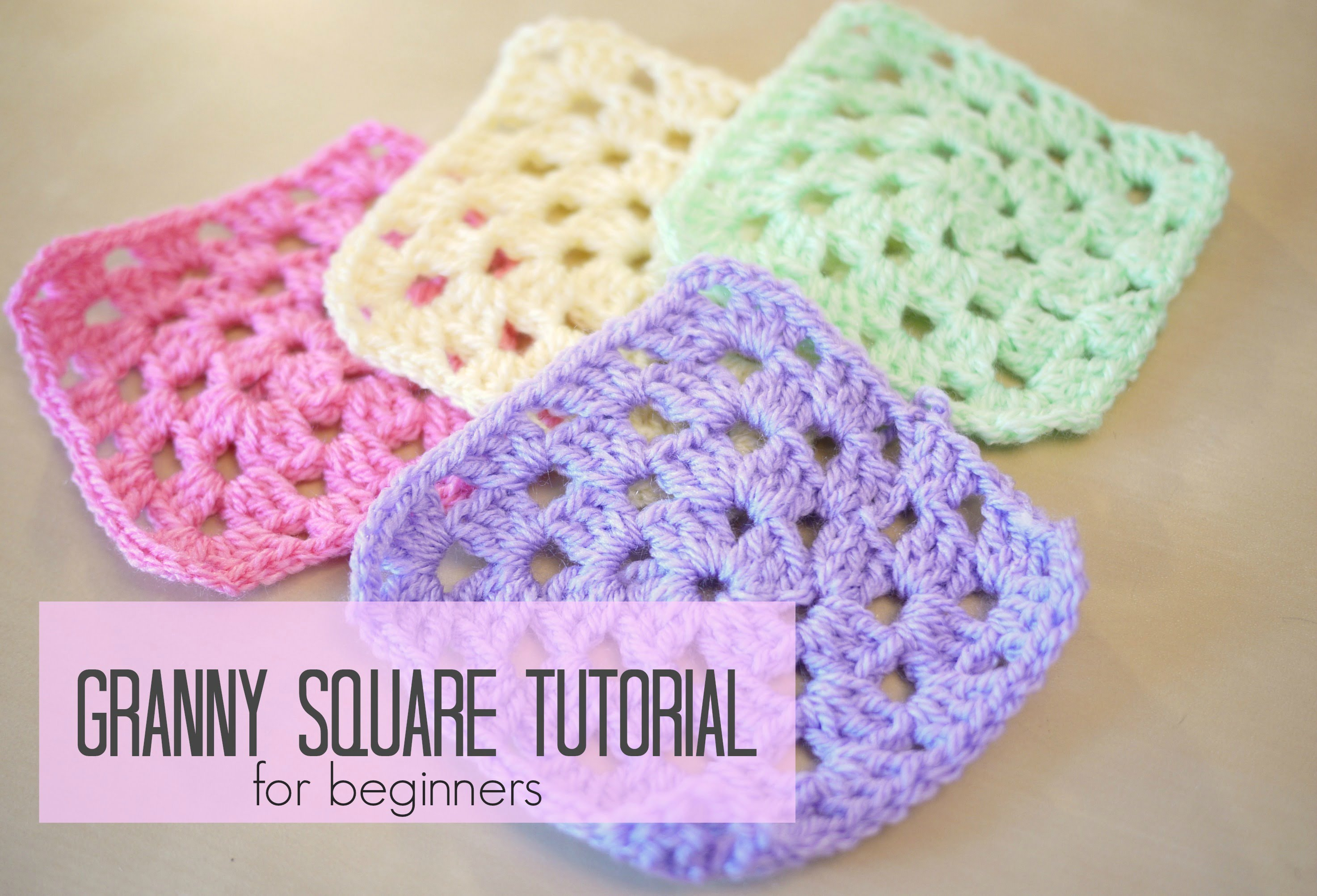 Crocheting For Beginners crochet: how to crochet a granny square for beginners   bella coco - sovkimu