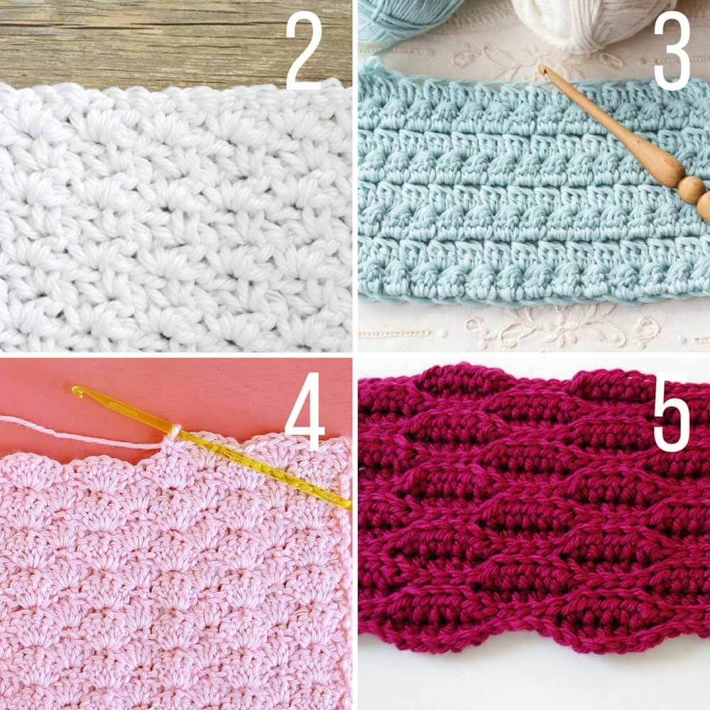 different crochet stitches this collection of modern crochet stitches for blankets and afghans is sure zsexjzw