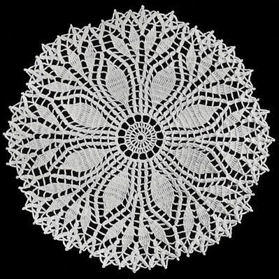 doily patterns fern leaf doily pattern qefbkgq