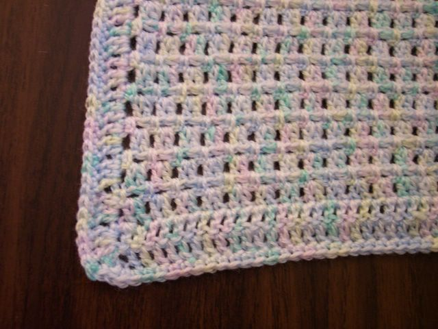 Easy Crochet Baby Blanket For Baby Shower
